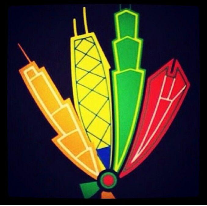 blackhawks feathers logo bing images