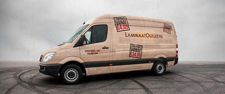 Bezorgen van #laminaat voor een vaste prijs van € 49,-