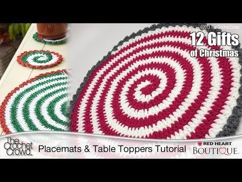 17 best images about motywy i wzory szyde ko crochet on for Peppermint swirl craft show