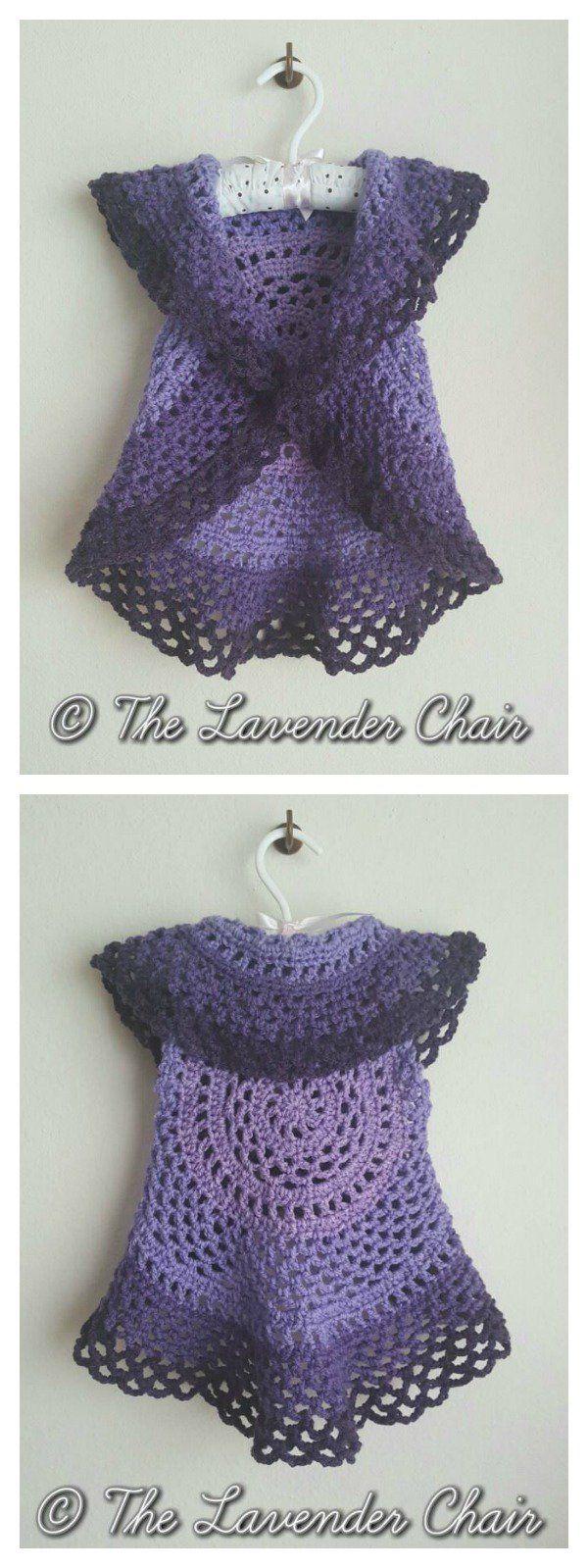 Ring Around the Rosie Vest Free Crochet Pattern
