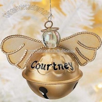 Bell Angel Crafts to Make | Angel Bell Ornaments, Wholesale China Angel Bell Ornaments Customized ...