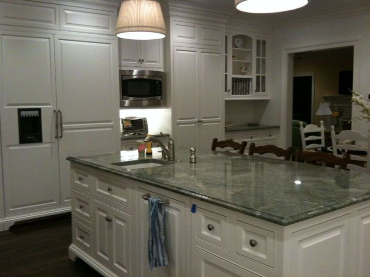 High Quality The Granite Gurus: Slab Sunday: Costa Smeralda Granite · Green Granite  CountertopsDark GraniteKitchen ...
