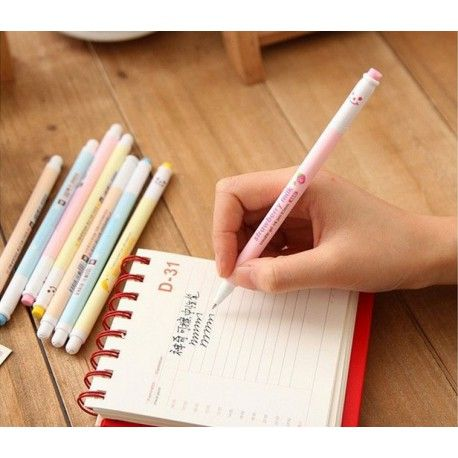 """Długopis żelowy zmazywalny w stylu """"mleko smakowe"""""""