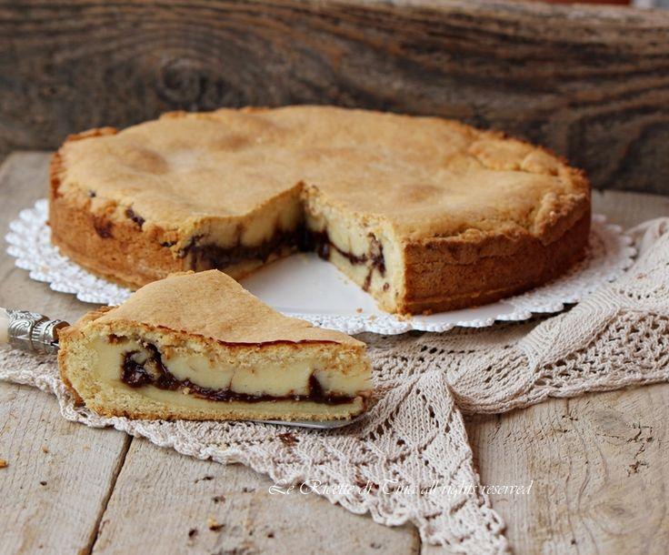 crostata crema e nutella