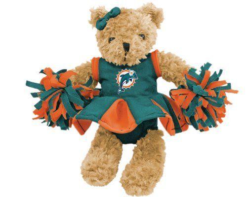 NFL Miami Dolphins Cheerleader Bear by Champion. $12.21. Champion Treasures NFL Miami Dolphins Cheerleader Bear