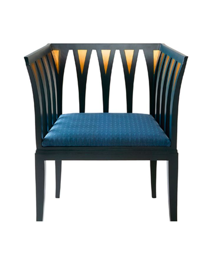 Cranbrookin sininen nojatuoli - Eliel Saarinen