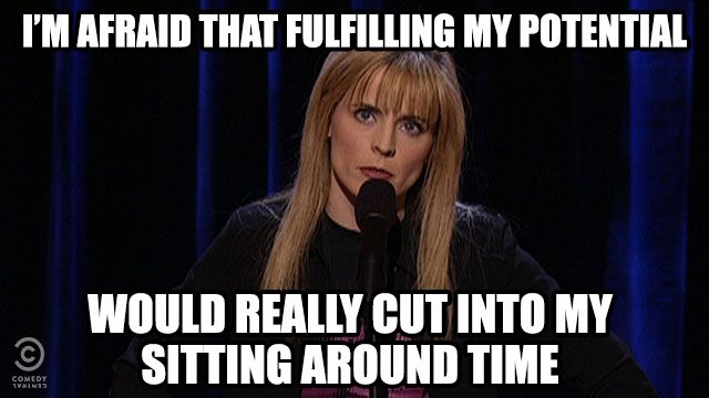 , Your #tbt Joke of the Day from Maria Bamford....
