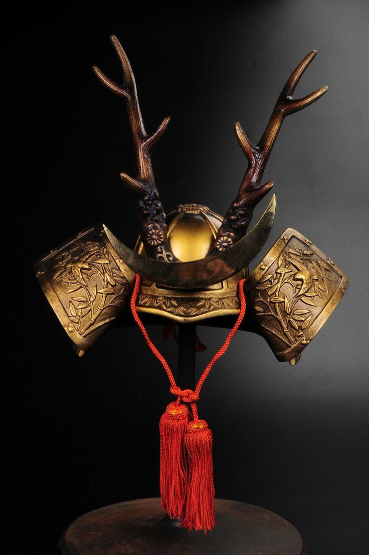 THE JAPANESE VINTAGE SAMURAI HELMET -shikanosuke's helmet- • CAD 193.33 - PicClick CA