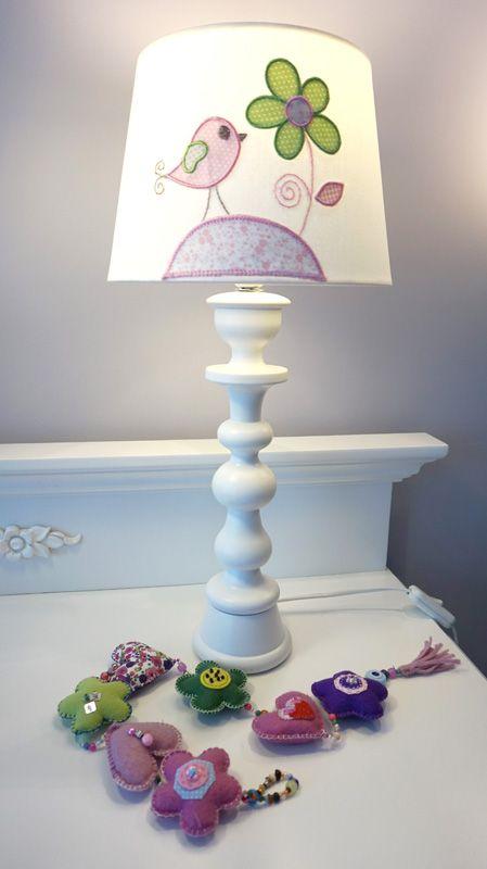 Bebek odası abajuru / baby room decorating