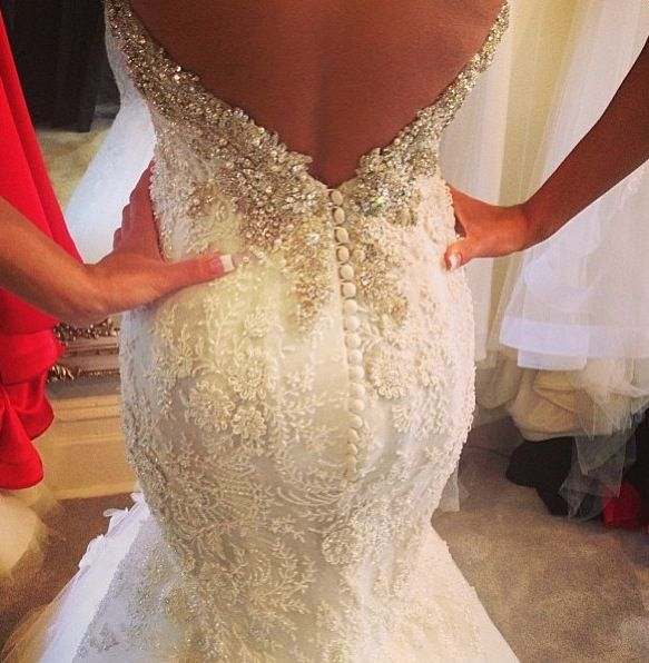 Gorgeous. Lady Marmalaide loves this. For your perfect wedding gown…