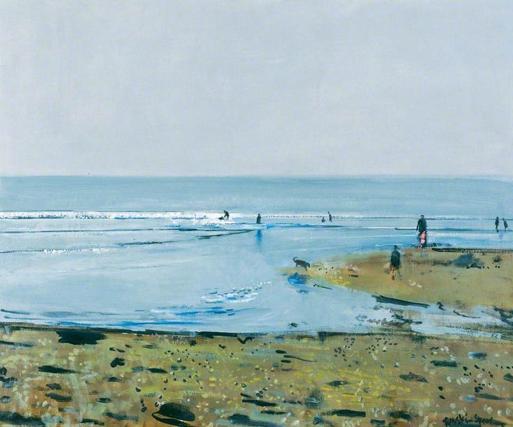 Low Tide - Ruskin Spear (British, 1911-1990)