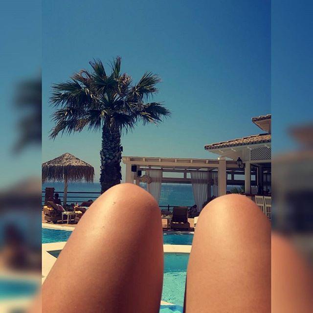 We like when our guests enjoy their stay! #DelfinoBlu #pool #SummerMoments #Corfu Photo credits: @jul_1808