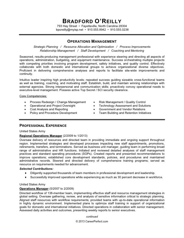 The 25+ best Sample resume ideas on Pinterest Sample resume - operations administrator sample resume