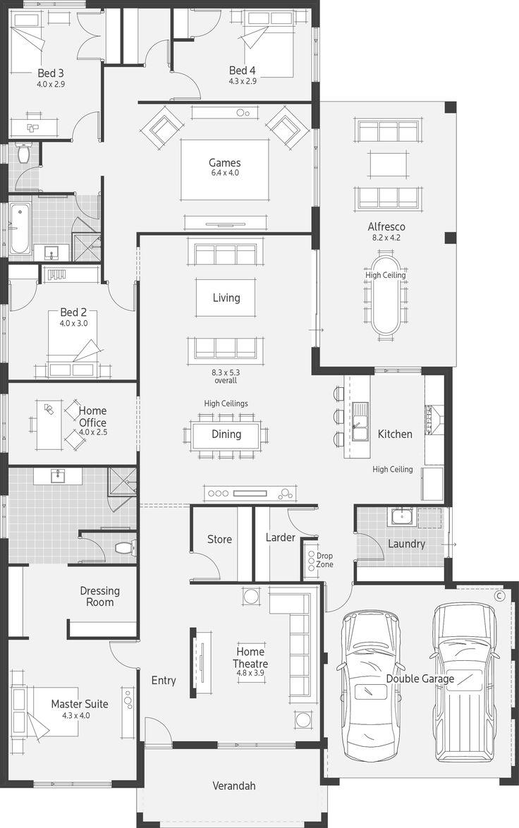 Rearrange house layout
