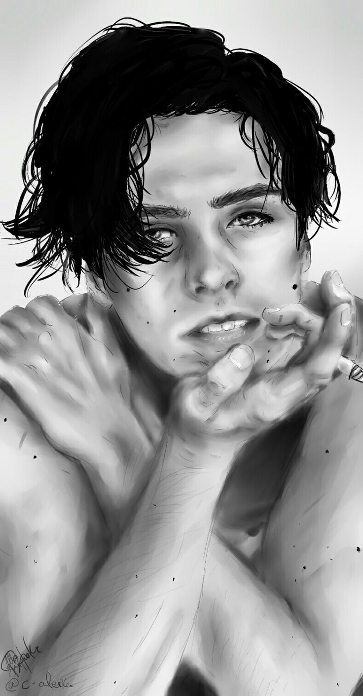 Cole Sprouse fanart. Pts.
