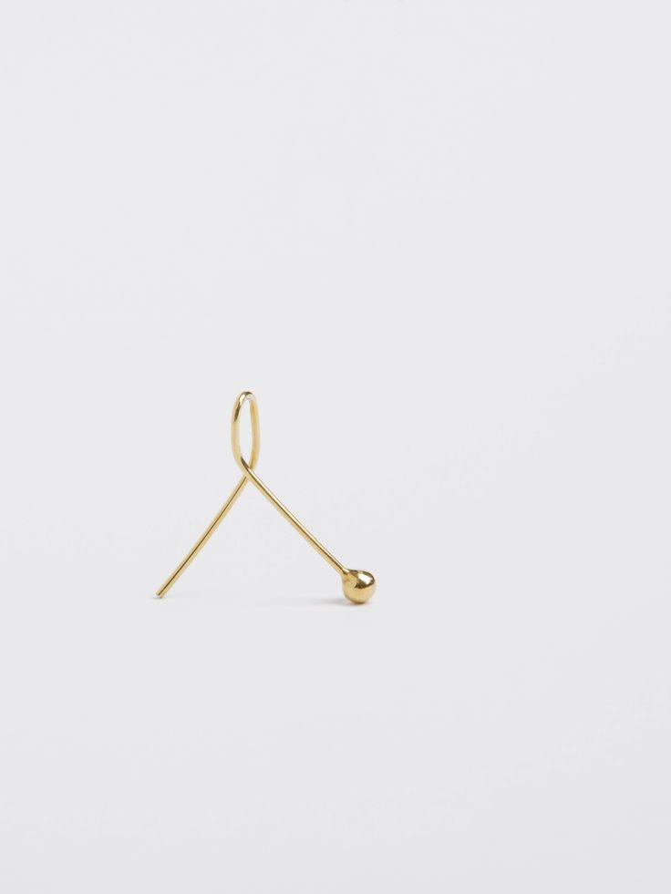 earring - jolie - Anna Lawska Jewellery / collection - closeness -