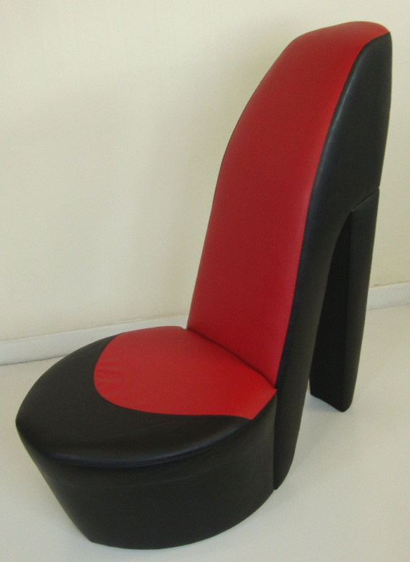 Red Heel Chair Bedroom Brisbane Black Shoe High Stiletto Girly Gagets Gotta Haves Shoes