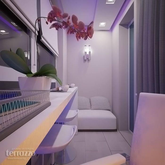 Дизайн Балкона: Дизайн-проект трехкомнатной квартиры по ул. Скрыганова