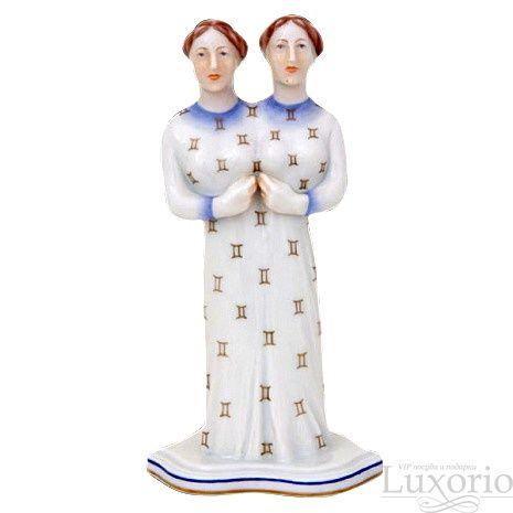 Знак зодиака Близнецы, H-15545-0-00 C - Люксорио.ру #decor #porcelain #collectible #collection