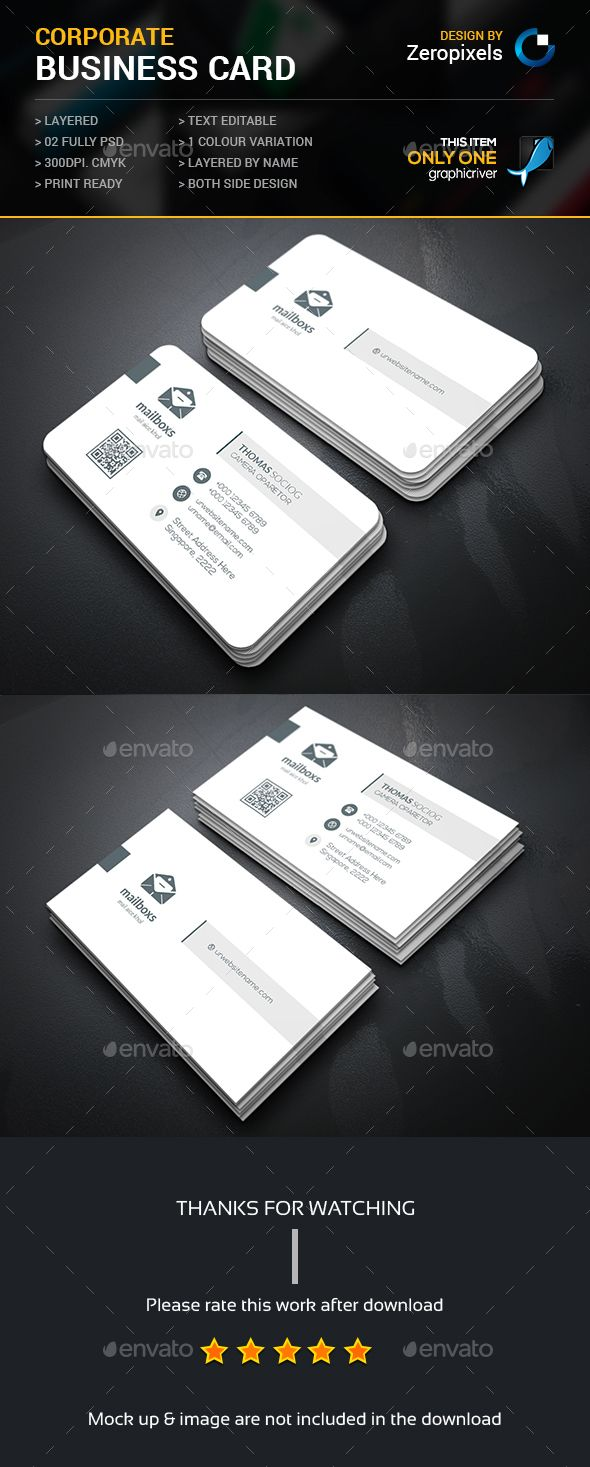 Simply Corporate Business Card Template PSD. Download here: http://graphicriver.net/item/simply-corporate-business-card/15245685?ref=ksioks