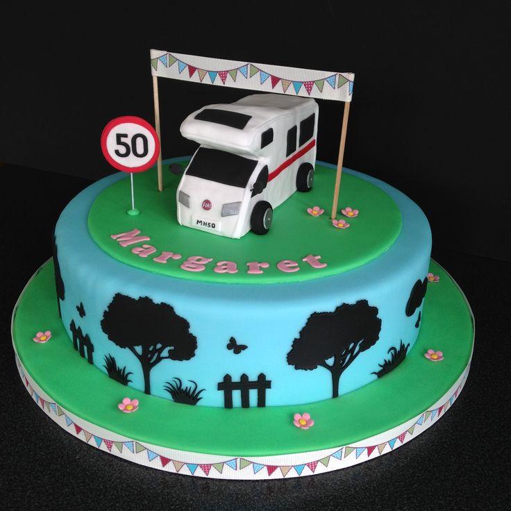 Perfect Explore Chops Cakes Motorhome Cake And More Motorhome Cakes