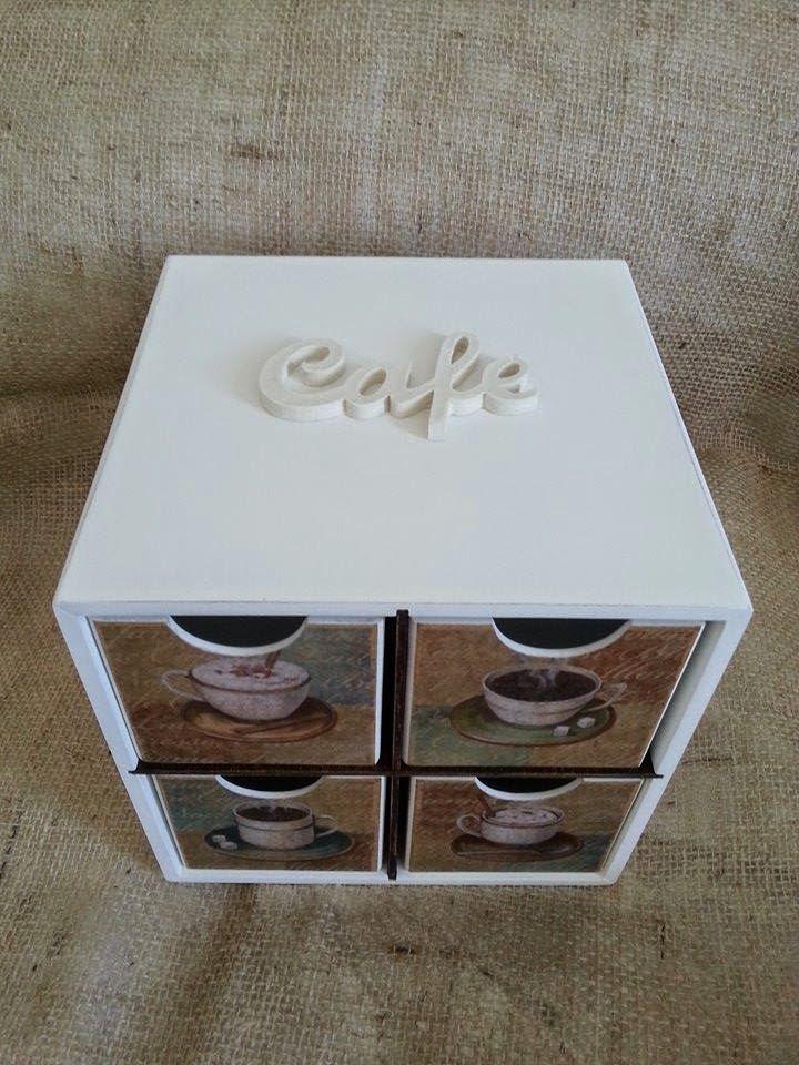 Arte l em casa caixa para c psula de caf expresso com - Casas embargadas la caixa ...