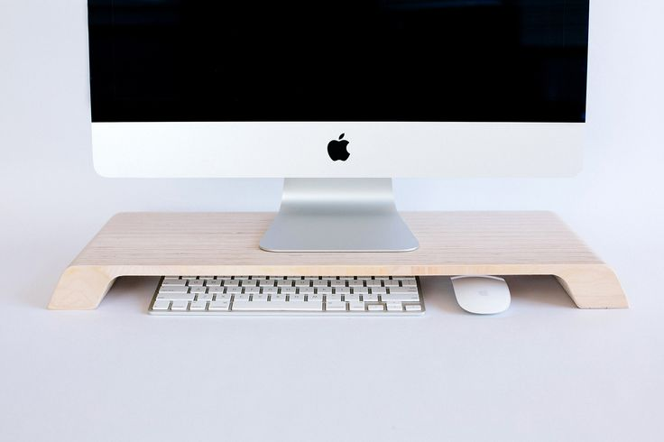 Lifta was designed with three goals in mind: lift your computer to the proper ergonomic height, offer a place to store peripherals, and keep your desk tidy.