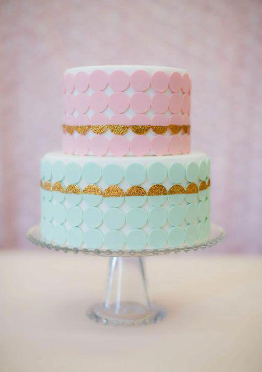 15 Pretty Bridal Shower Cakes