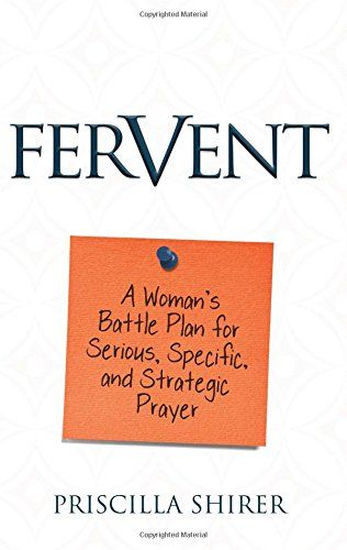 Welcome to the first week of Fervent. The act of a deeper prayer time has  been prodding at me for a while now. I've learned that my spirit will not  rest until it complies with the promptings of His Spirit.  As Priscilla shares throughout the introduction of Fervent, we have a real  enemy and we need to make sure we recognize that so we know where to aim.  Actually, we have several enemies. One is quite obvious and that's Satan.  The other one is our own flesh. I don't know about you but I…