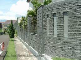 desain pagar rumah minimalis dengan batu alam - Penelusuran Google