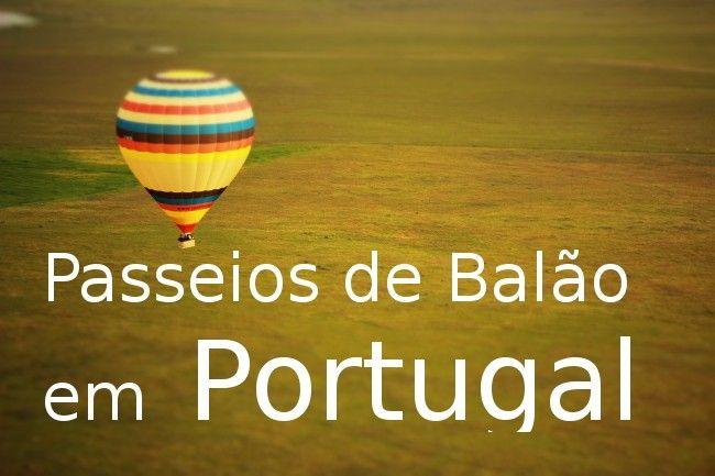 Voo Balão de ar quente Portugal
