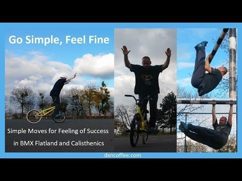 dxnproducts.com: Simple moves for feeling of success in BMX Flatlan...