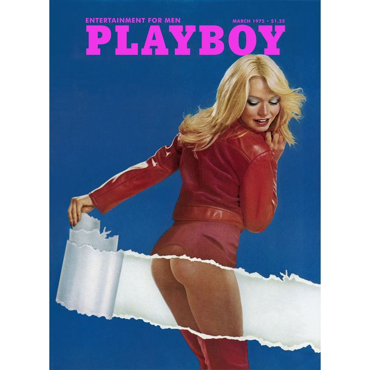 Marmont Hill Art Collective Playboy Cover 'March 1975' Fine Art Print