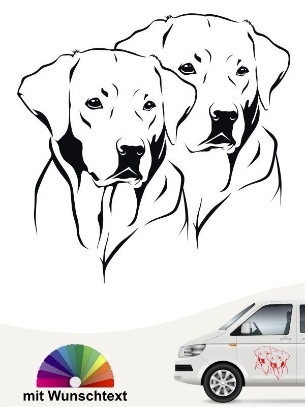Labrador Retriever 30 Aufkleber Labrador Retriever Beliebte Hunderassen Schosshund