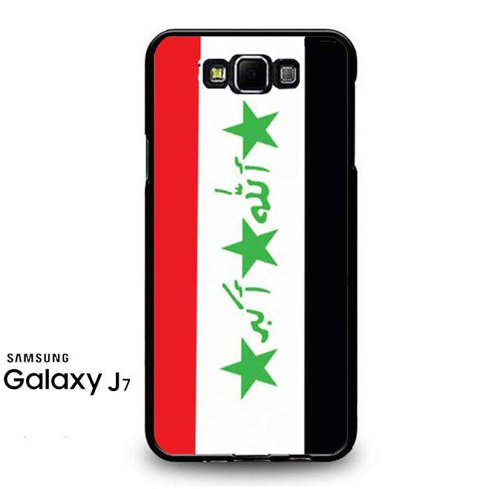 Iraq Flag Samsung Galaxy J7 Prime Case