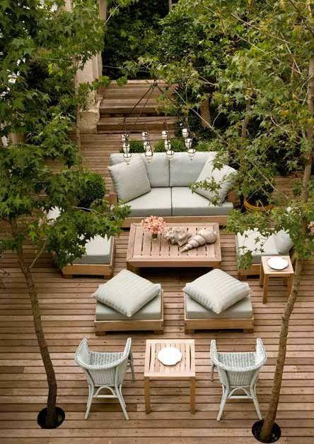 Mejores 36 im genes de ideas para reformar tu patio en for Reformar terraza ideas