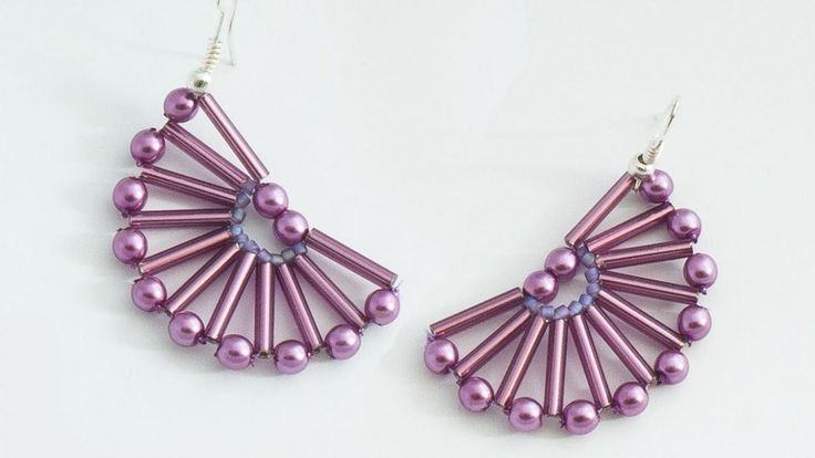 Make Nice Semicircle Beaded Earrings - DIY Style - Guidecentral