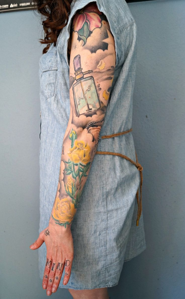 full arm tattoos