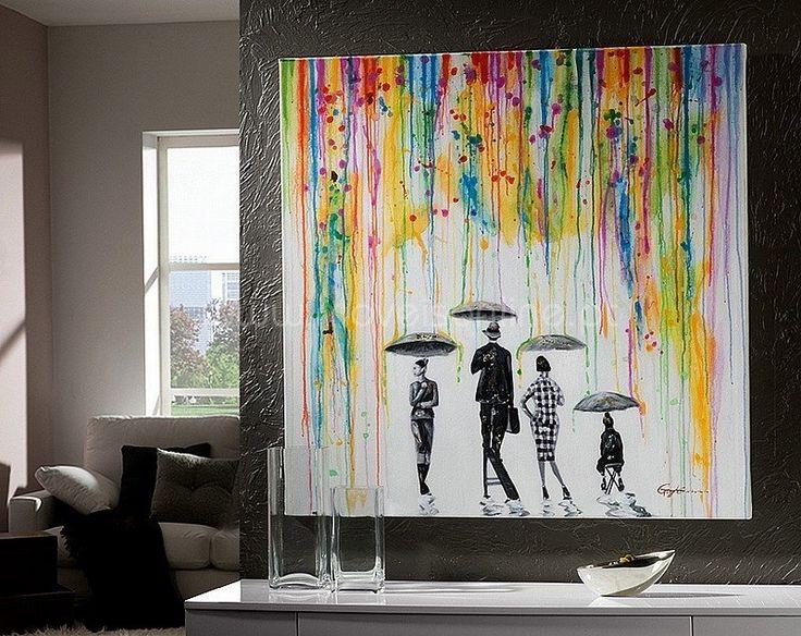 Pintura Lluvia