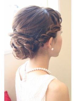 Pretty but possibly too much of a fad with the braid style