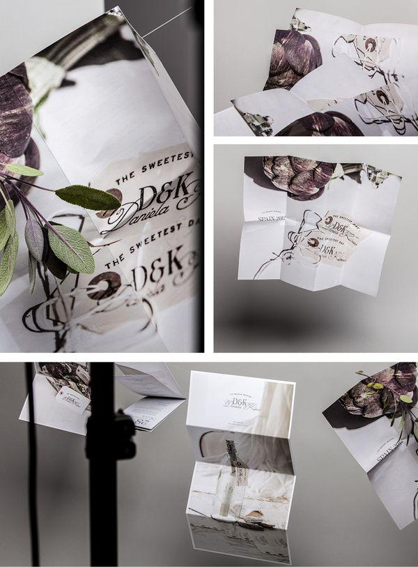 Wedding Invitation by Bureau Rabensteiner