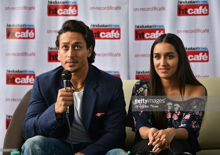 Bollywood actors Tiger Shroff and Shraddha Kapoor, during an exclusive interview with HT Cafe for an upcoming movie Bhaggi at HT Office, Parel, on April 21, 2016 in Mumbai, India. Baaghi (English: Rebel) is an upcoming Hindi film directed by Sabbir Khan and produced by Sajid Nadiadwala under his banner Nadiadwala Grandson Entertainment. The film is scheduled for a worldwide release on April 29, 2016.