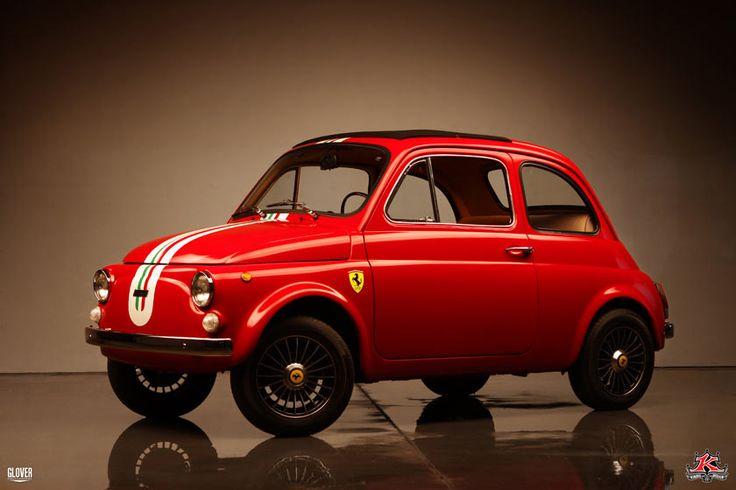 Fiat 500 Ferrari Tribute - Kindigit Design of SLC