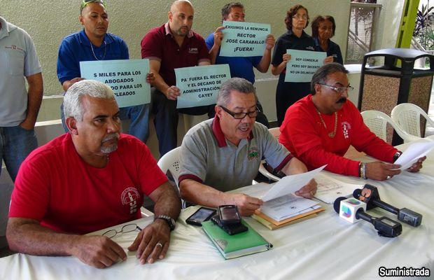 Complacido pero vigilante sindicato de trabajadores de la UPR con mensaje del gobernador