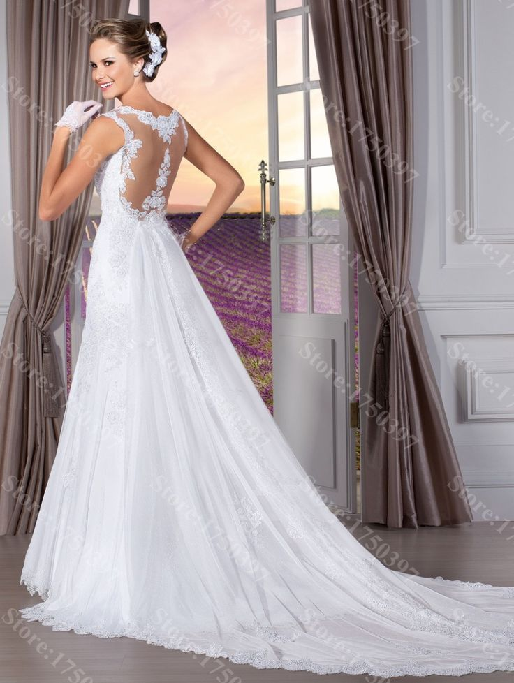 32 best vestidos boda images on Pinterest   Wedding dressses ...
