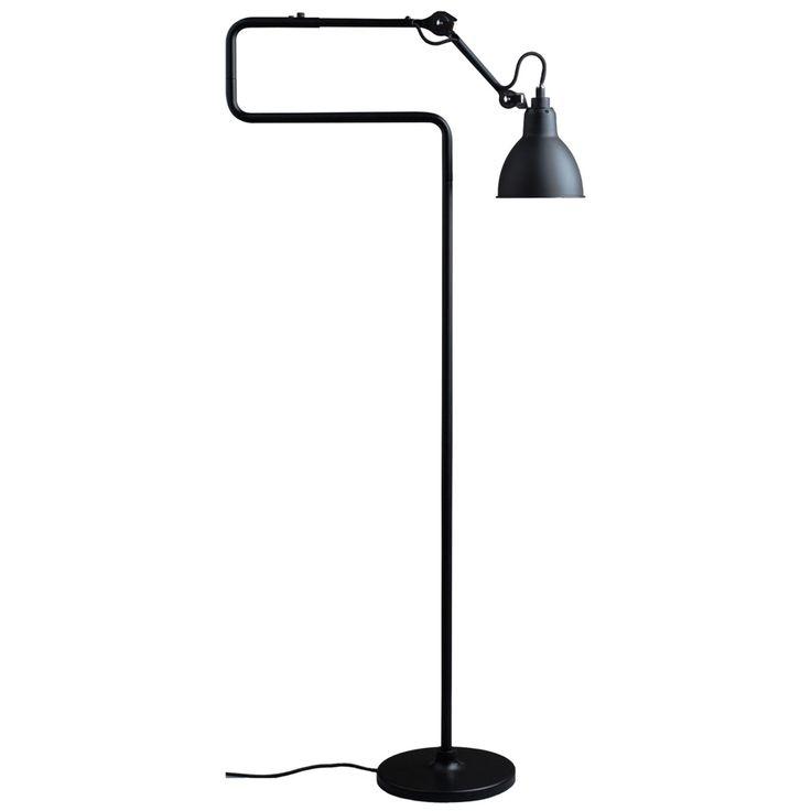 N°411 gulvlampe, svart i gruppen Belysning / Lamper / Gulvlamper hos ROOM21.no (131672)