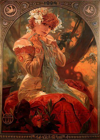 Alfons Maria July 1860 14 Often Known In English And French As Alphonse Mucha Was A Czech Art Nouveau Painter Decorative Artist