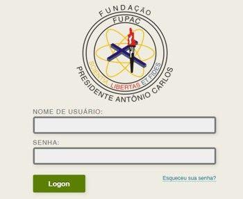 Portal UNIPAC Lafaiete - Plataforma Blackboard