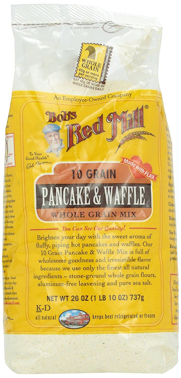 Bob's Red Mill, 10-Grain Pancake Mix, 26 oz >>> To view further for this item, visit the image link.