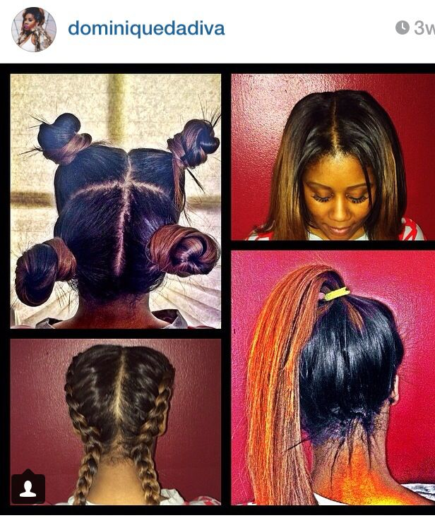 Vixen sew-in | Hair | Pinterest